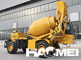 self loading mobile concrete mixer manufacturer